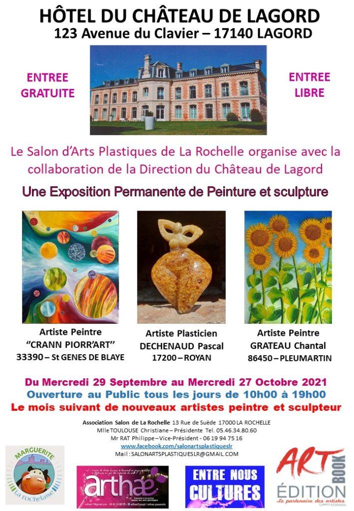Affiche Château Lagord