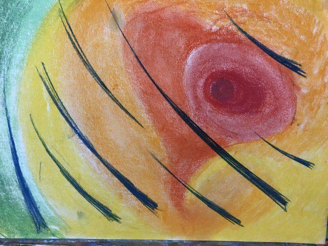 The Coloured Hole